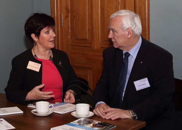 Councillor Deirdre MacKay & Iain Forbes