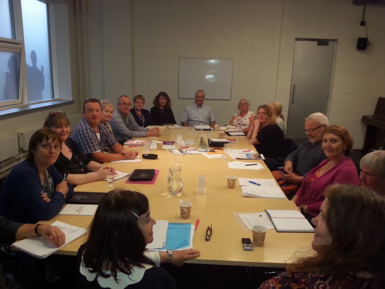 Our local network coordinators get the opportunity to meet members of the GWT steering group in Glasgow
