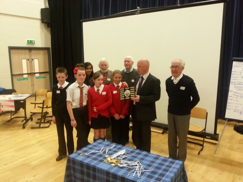 And the Intergenerational Quiz 2013 winners are: Team Carlibar/Kirkton