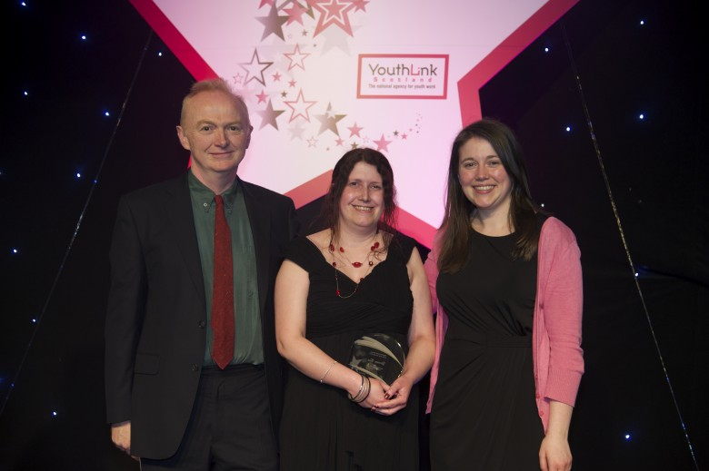 YouthLink Scotland's Youth Worker of the Year Award (Intergenerational) - Congratulations to our winner Yvonne Boa