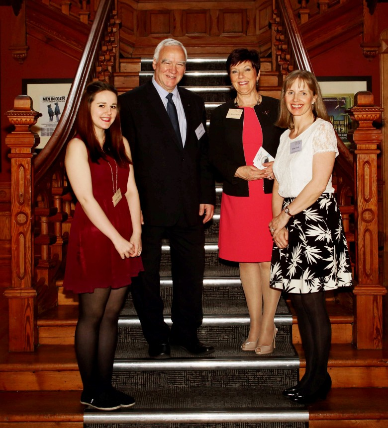 Highlands & Islands Conference, Inverness, (29th April 2014) -  Iain & Alison with speakers Cllr Deirdre MacKay and Aine Taylor