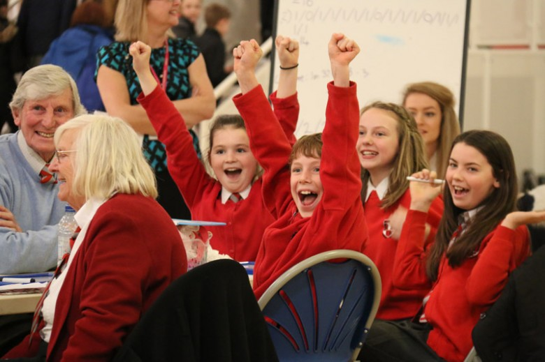 Well done Team Uplawmoor Primary! Winners of this year's intergenerational quiz