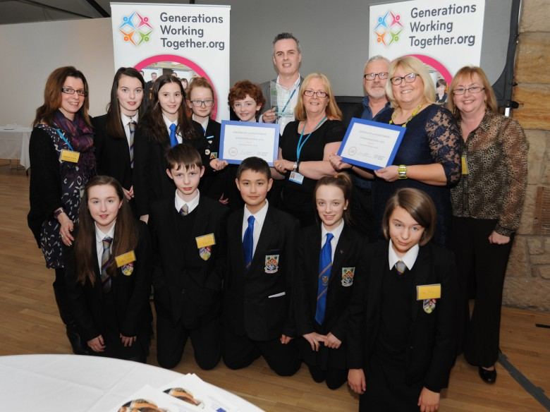 Intergenerational Quiz (East Renfrewshire) - winners of the Established Project Award
