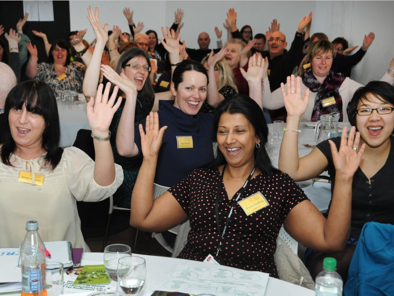 Laughter Yoga at the Conference