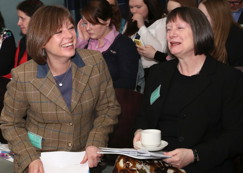 Cllr Kate Stephen & Myra Duncan, our morning speakers at the Highlands & Islands Conference