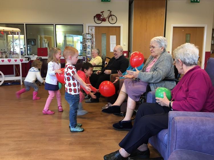 Baloon activity