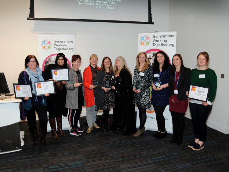Recognition Award winners