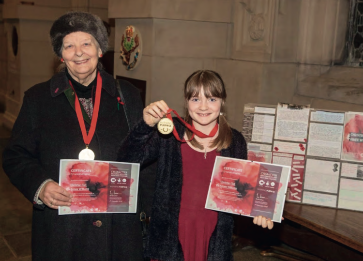 Winners of Inspiring Purpose award